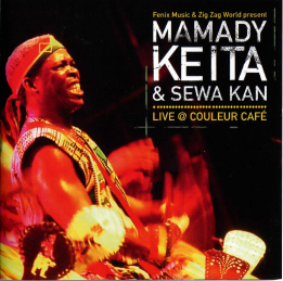 2005 special guest in  Mamady Keita live